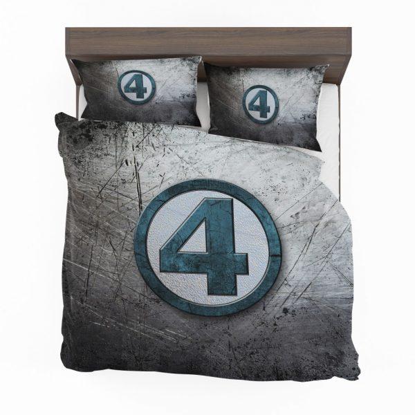 Fantastic Four Logo Marvel Comics Bedding Set 2
