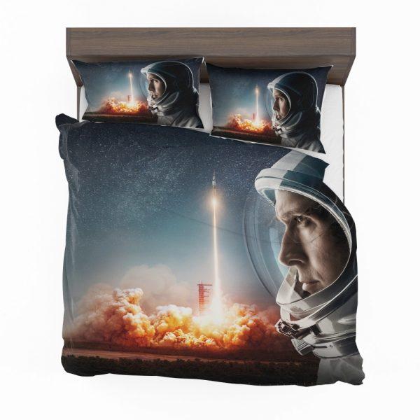 First Man Movie Astronaut Ryan Gosling Bedding Set 2