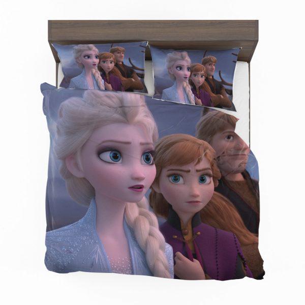 Frozen 2 Movie AnnaElsaKristoff  Bedding Set 2
