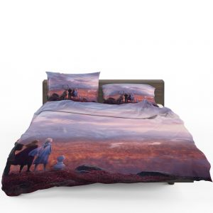 Frozen 2 Movie AnnaElsaKristoffOlaf  Bedding Set 1