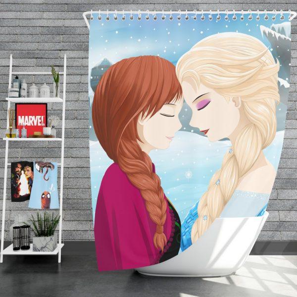 Frozen Movie Anna & Elsa Shower Curtain