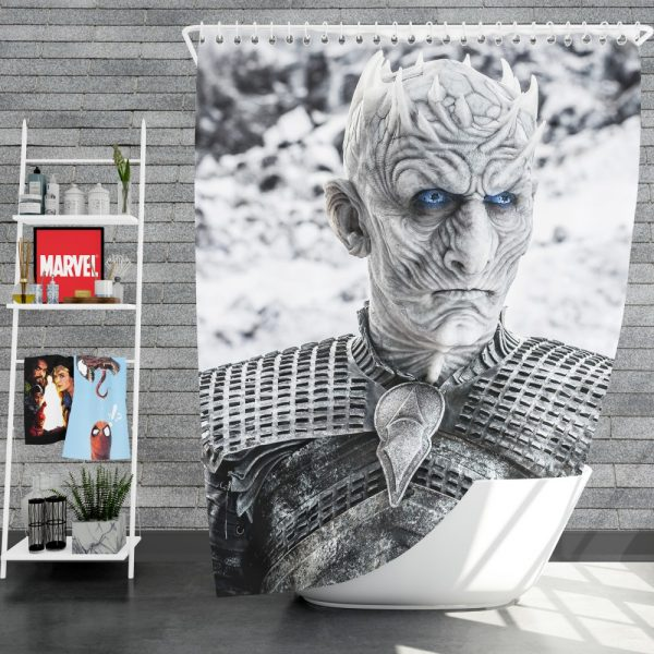 Game Of Thrones Night King Shower Curtain