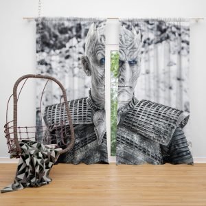 Game Of Thrones Night King Window Curtain