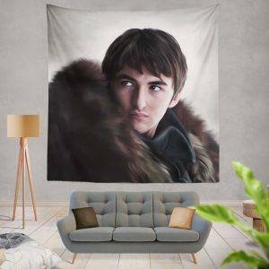Game Of Thrones TV Series Bran Stark Wall Hanging Tapestry