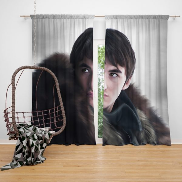 Game Of Thrones TV Series Bran Stark Window Curtain