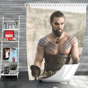 Game Of Thrones TV Series DrogoJason Momoa Shower Curtain