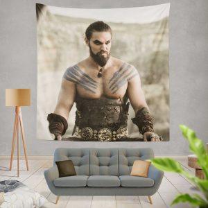 Game Of Thrones TV Series DrogoJason Momoa Wall Hanging Tapestry