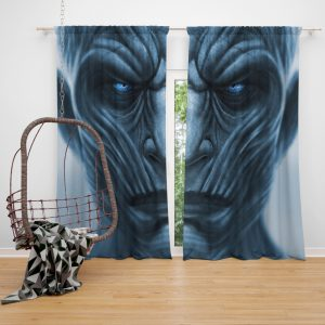 Game Of Thrones TV Series Night King GOT Window Curtain