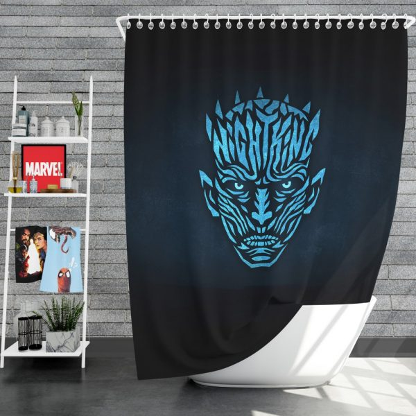 Game Of Thrones TV Series Night KingShower Curtain