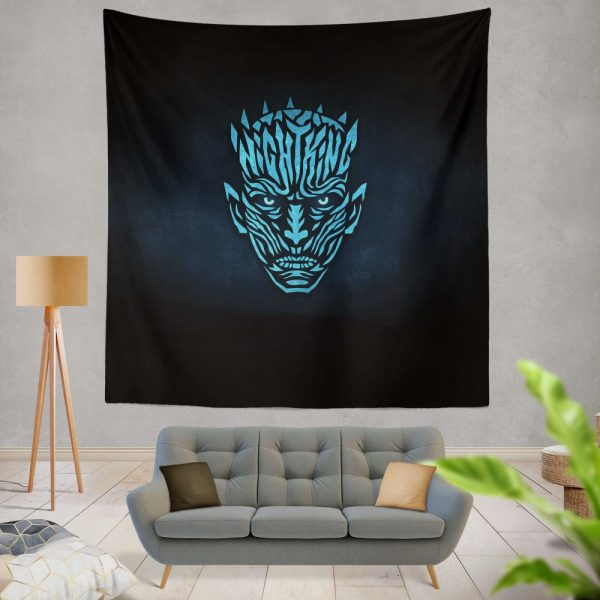 Game Of Thrones TV Series Night KingWall Hanging Tapestry