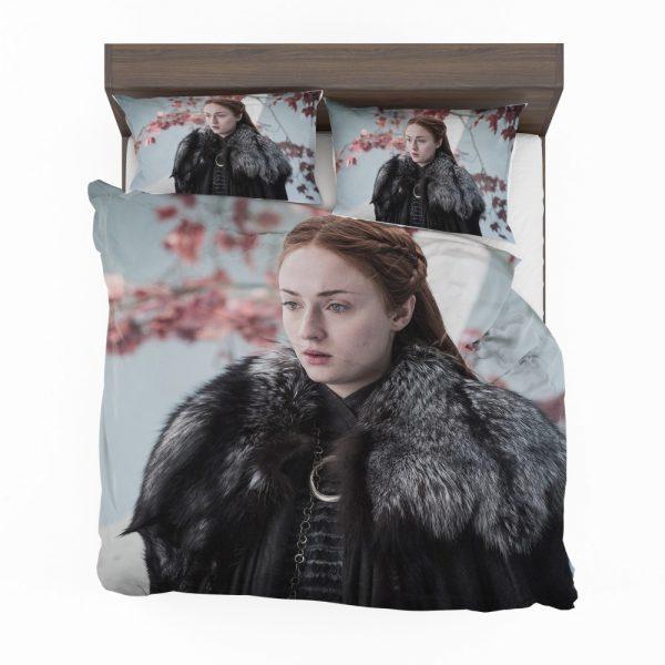 Game Of Thrones TV Series Sansa Stark Sophie Turner Bedding Set 2