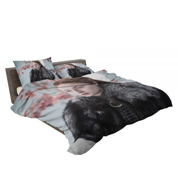 Game Of Thrones TV Series Sansa Stark Sophie Turner Bedding Set 3