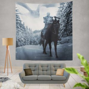 Game Of Thrones TV Show White Walker Wall Hanging Tapestry
