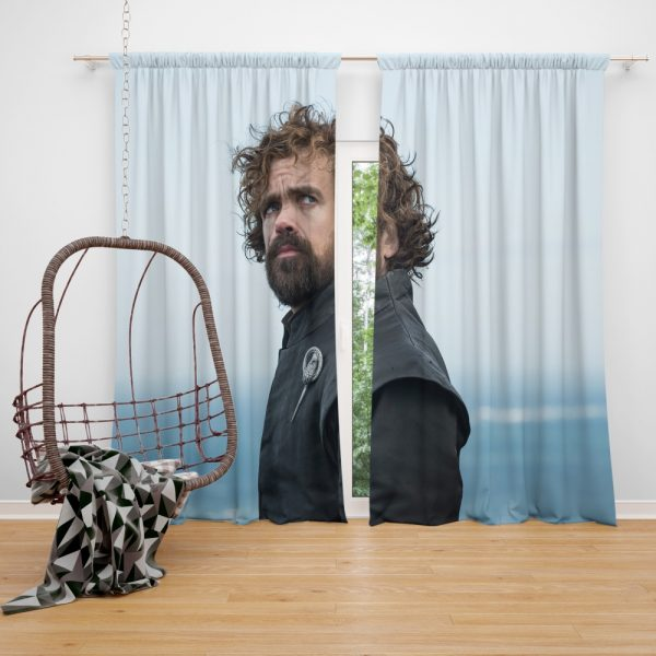 Game Of Thrones Tyrion Lannister Peter Dinklage Window Curtain