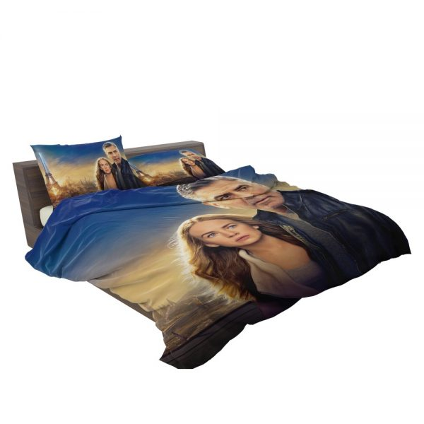 George Clooney & Brittany Robertson in Tomorrowland Movie Bedding Set 3
