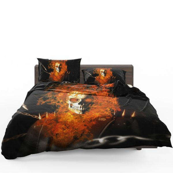 Ghost Rider Movie Ghost Rider Bedding Set 1