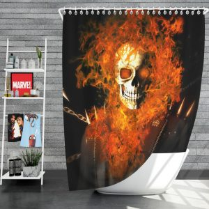 Ghost Rider Movie Ghost Rider Shower Curtain