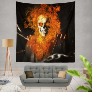 Ghost Rider Movie Ghost Rider Wall Hanging Tapestry