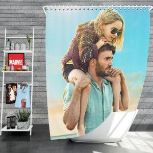 Gifted Movie Chris Evans Mckenna Grace Shower Curtain