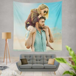 Gifted Movie Chris Evans Mckenna Grace Wall Hanging Tapestry
