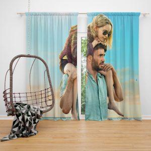 Gifted Movie Chris Evans Mckenna Grace Window Curtain