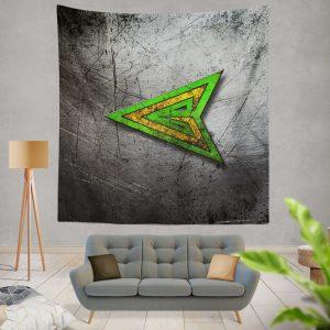 Green Arrow Logo DC Comics Wall Hanging Tapestry