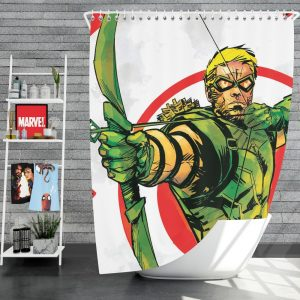 Green Arrow Movie DC Universe Shower Curtain