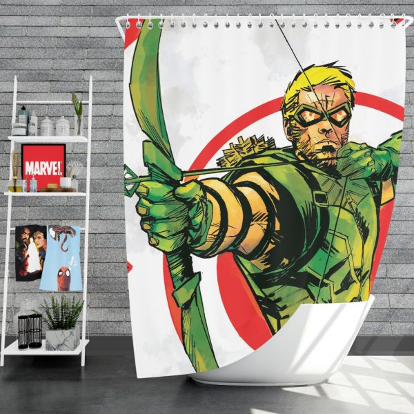 Green Arrow Movie DC Universe Shower Curtain