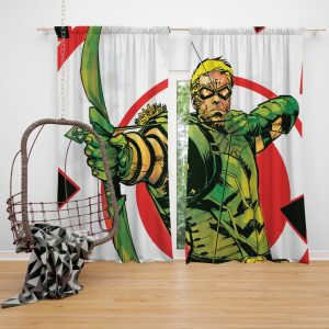 Green Arrow Movie DC Universe Window Curtain