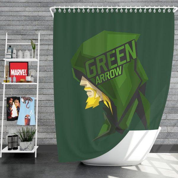 Green Arrow Movie Shower Curtain