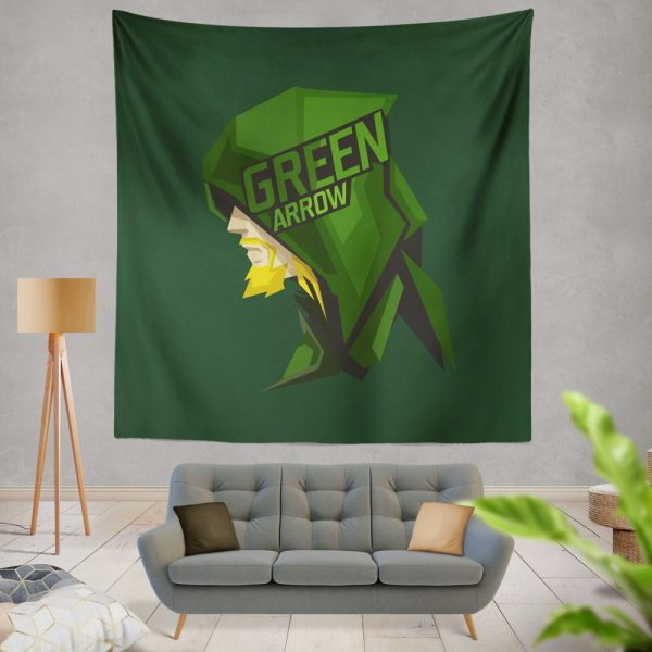 Green Arrow Movie Wall Hanging Tapestry