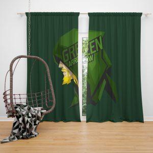 Green Arrow Movie Window Curtain