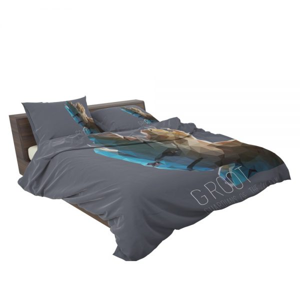 Groot in Guardians of the Galaxy Movie Marvel Bedding Set 3