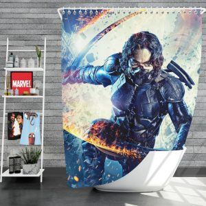 Guardians Movie Shower Curtain