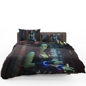Guardians of the Galaxy Movie Gamora Zoe Saldana Bedding Set 1