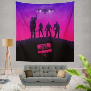 Guardians of the Galaxy Movie Guardians of the Galaxy Wall Hanging Tapestry