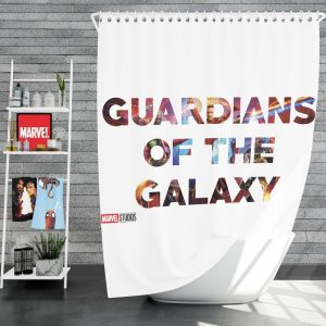 Guardians of the Galaxy Movie Shower Curtain