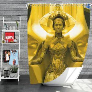 Guardians of the Galaxy Vol 2 Movie Ayesha Elizabeth Debicki Shower Curtain