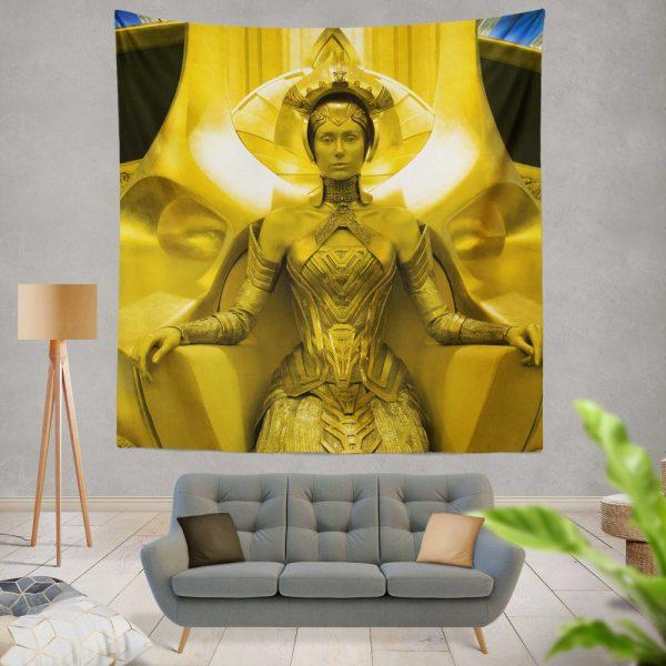 Guardians of the Galaxy Vol 2 Movie Ayesha Elizabeth Debicki Wall Hanging Tapestry