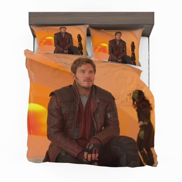 Guardians of the Galaxy Vol 2 Movie Chris Pratt Star Lord Bedding Set 2