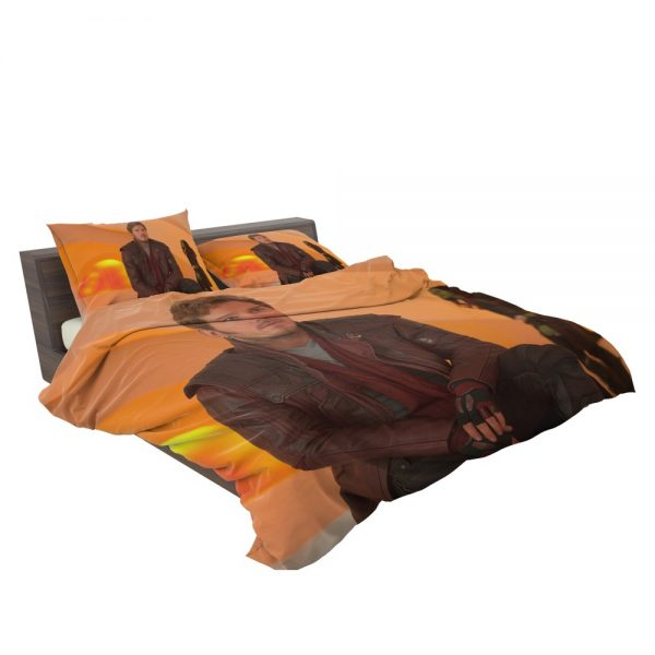 Guardians of the Galaxy Vol 2 Movie Chris Pratt Star Lord Bedding Set 3