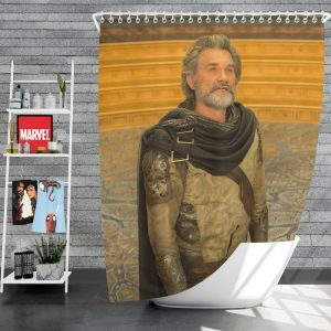 Guardians of the Galaxy Vol 2 Movie Ego Marvel Comics Kurt Russell Shower Curtain