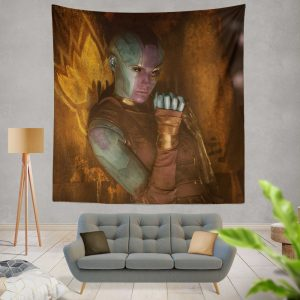 Guardians of the Galaxy Vol 2 Movie Karen Gillan Nebula Marvel Comics Wall Hanging Tapestry