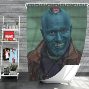 Guardians of the Galaxy Vol 2 Movie Michael Rooker Yondu Udonta Shower Curtain
