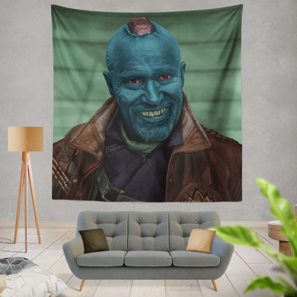 Guardians of the Galaxy Vol 2 Movie Michael Rooker Yondu Udonta Wall Hanging Tapestry