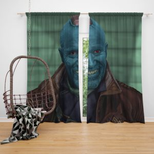 Guardians of the Galaxy Vol 2 Movie Michael Rooker Yondu Udonta Window Curtain