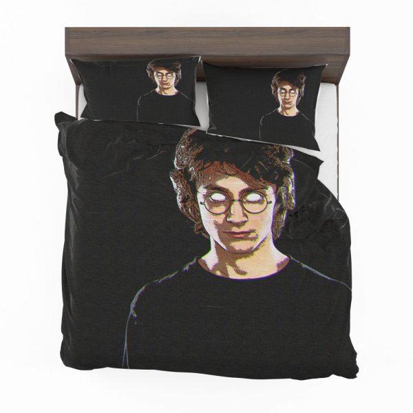 Harry Potter Movie Glitch Art Bedding Set 2