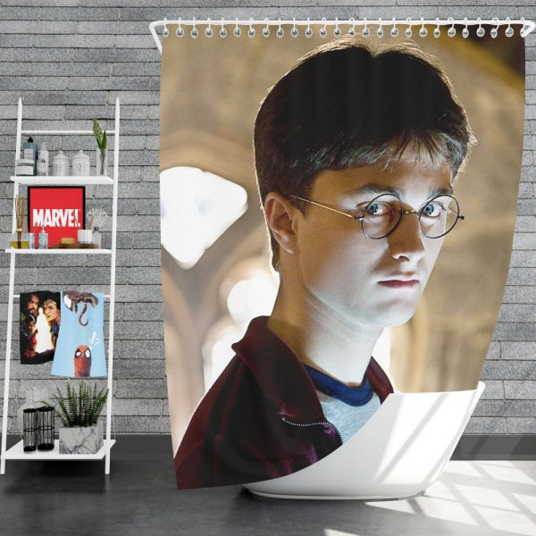 Harry Potter and the Half-Blood Prince Movie Daniel Radcliffe Shower Curtain