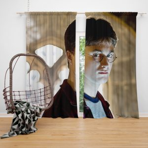 Harry Potter and the Half-Blood Prince Movie Daniel Radcliffe Window Curtain