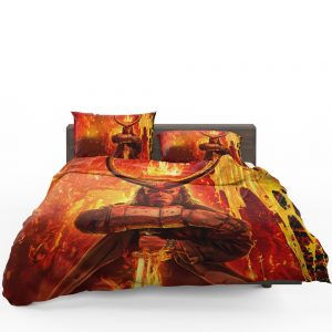 Hellboy 2019 Movie American Supernatural Superhero Bedding Set 1